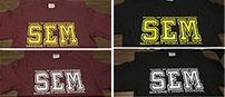 SEM Spirit t-shirts