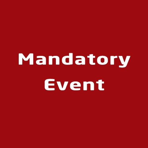 Mandatory Event
