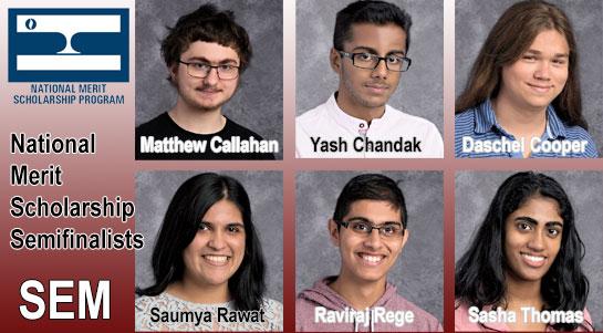 2017 National Merit Scholarship Semifinalists